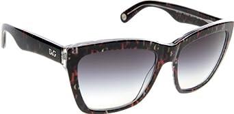 D&G 3080 19748G Lettering Black 3080 Wayfarer Sunglasses