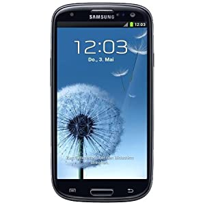 "Samsung Galaxy S Lll I9300 Unlocked GSM Phone With 4.8"" HD Super Amoled Screen 8mp Camera Android Os 4.0 A-gps And Wi-fi Sapphire Black"