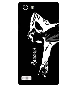 Chiraiyaa Designer Printed Premium Back Cover Case for Oppo Neo 7 (michael jackson dance sing perform) (Multicolor)