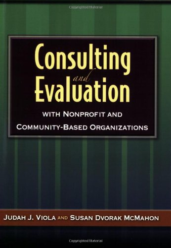 Consulting And Evaluation With Nonprofit And...
