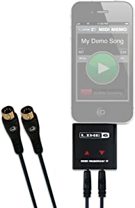 【国内正規品】 Line6 (ライン6) iOSディバイス用 オリジナルMIDIインターフェース MIDI Mobilizer II