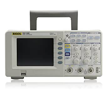 Rigol DS1102E 100MHz Digital Oscilloscope, Dual Analog