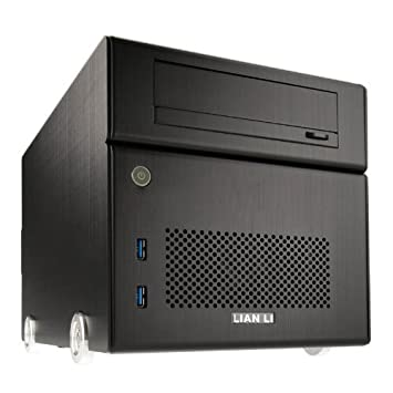 Lian Li PC-Q15 - Aluminium Mini Tower PC Case - Noir