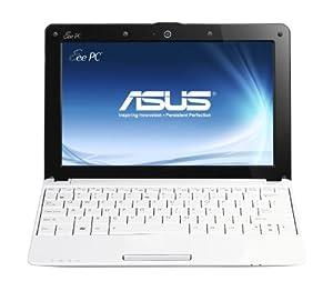 Asus EeePC R105D 25,7 cm (10,1 Zoll) Netbook (Intel Atom N455, 1,6GHz, 1GB RAM, 320GB HDD, Intel 3150, Win 7 Starter) weiß