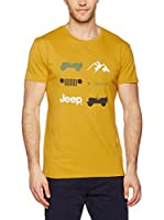 "Jeep Camiseta Manga Corta ""Iconography J7S (Ocre)"