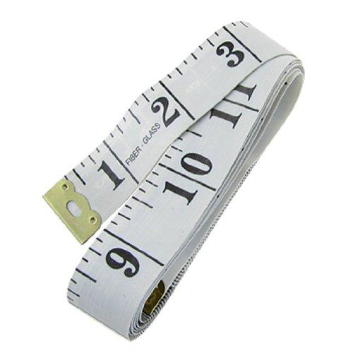 Amico Tailor Seamstress 150cm 60inch Tape Measure Cloth Ruler White