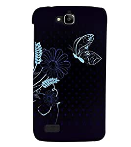 Huawei Honor Holly MULTICOLOR PRINTED BACK COVER FROM GADGET LOOKS