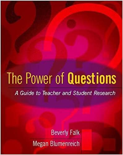 book cover: the power of questions