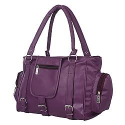 Glory Fashion Women's Stylish Handbag Purple BB-001-B00146