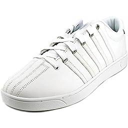 K-Swiss Men\'s Court Pro CMF II Athletic Shoe White