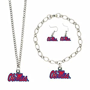 Buy NCAA Mississippi Rebels Jewelry Set by WinCraft