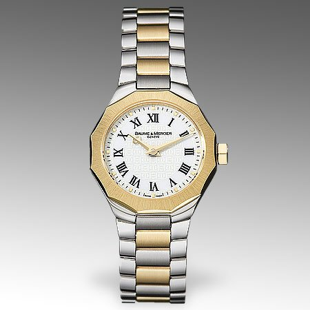 Baume & Mercier Womens Riviera Gold Watch