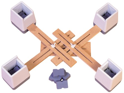 Aidapt VG824M - Set di supporti alza sedia collegati e regolabili