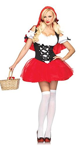 Oryer Halloween Vixen Pirate Wench Sexy Riding Hood Cosplay Costumes