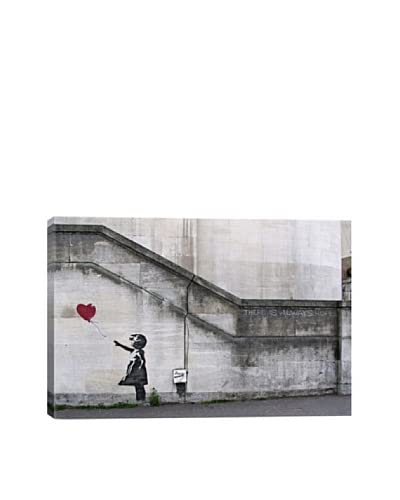 Banksy There Is Always Hope Balloon Girl Giclée On Canvas