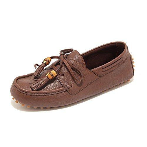 4286L mocassini uomo GUCCI hebron new oak scarpe loafers shoes men [9.5]