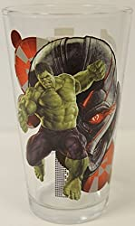 Avengers: Age of Ultron- Hulk 16 Oz. Pint Glass Marvel Comics