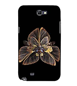 EPICCASE flower of butterfly Mobile Back Case Cover For Samsung Galaxy Note (Designer Case)