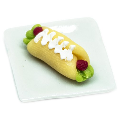 Dollhouse miniature Food,Tiny Food Collectibles - Hot Dog (Hot Dog Cannon compare prices)