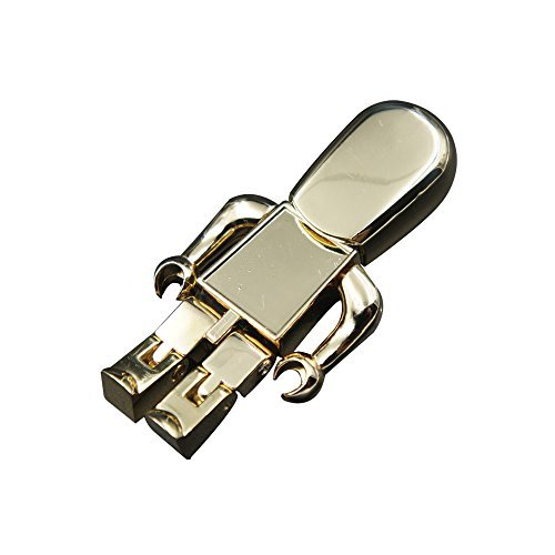 Metal Robot 16 GB USB Flash Drive(Gold ) (Robot Usb Port compare prices)