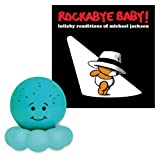 Cloud B Twinkles to Go Blue Octo Nightlight with Rockabye Baby Lullaby Renditions CD, Michael Jackson