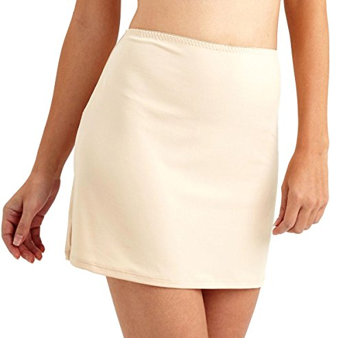 ANNY Women's Everyday Half Slips Natural Size Small