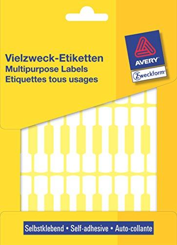 Avery Zweckform Lot de 924 étiquettes autocollantes multi-usages 49 x 10 mm (Import Allemagne)