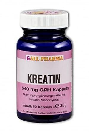 Gall Pharma Kreatin 540 mg GPH Kapseln, 1er Pack (1 x 1750 Stuck)