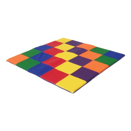 Ecr4Kids Patchwork Toddler Play Mat front-1057188