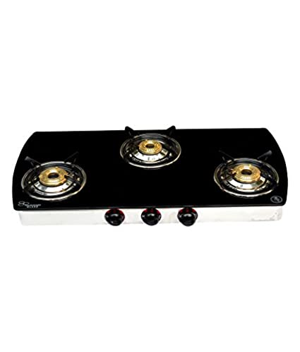 303 C Manual Ignition Gas Cooktop (3 Burner)