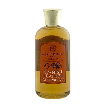 Geo F. Trumper Spanish Leather Aftershave Lotion 200ml Travel Bottle by Geo F. Trumper