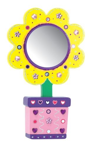 Melissa & Doug Flower Mirror - DYO