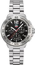 Tag Heuer Formula 1 Chronograph Black Dial Stainless Steel Mens Watch CAU1112.BA0858