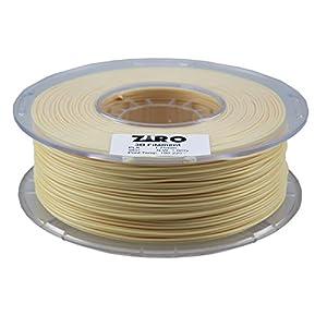 ZIRO 3D Printer Filament PLA 1.75 1KG(2.2lbs), Dimensional Accuracy +/- 0.05mm, Skin from ZIRO