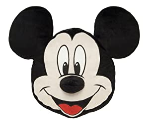 disney micky comic strip kissen micky maus kopf amazon. Black Bedroom Furniture Sets. Home Design Ideas