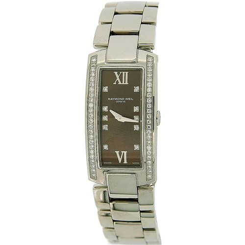 Raymond Weil Ladies Diamond Set Bezel & Dial Interchangeable Strap Watch 00775
