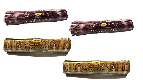 Shubh99 Incense Stick MAGIC FLORA & MASTANI 16CM Pack Of 4
