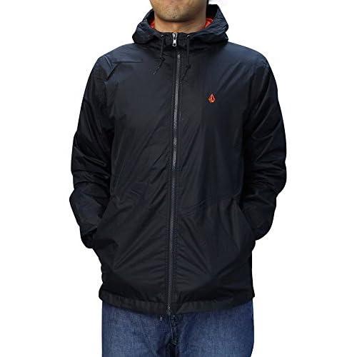 VOLCOM (ボルコム) Arlo Jacket フード付きナイロンジャケット 【M BLK】 [並行輸入品]