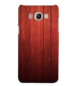 PrintVisa Rich Wood Pattern 3D Hard Polycarbonate Designer Back Case Cover for Samsung Galaxy J5