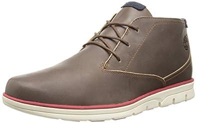 Timberland Men's Bradstreet Plain Toe Chukka Boot, Brown, 7 M US