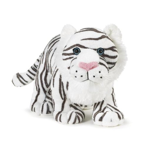 Webkinz White Tiger with Trading Cards - 1