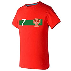 Buy 2014 Brazil World Cup Portugal Football Tee Mens T Shirt by Coslife