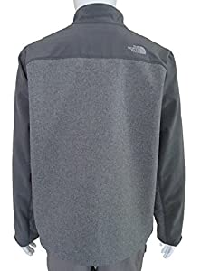 The North Face Apex Bionic Jacket Men's High Rise Grey Heather/Vanadis Grey XL from The North Face