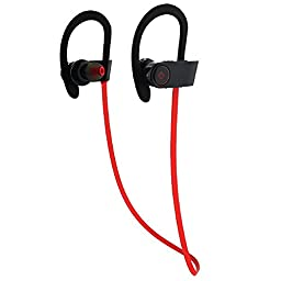 Bluetooth Earbuds, By Zivigo Comfortable Headphones with Noise Cancellation Technology, ipx4 Sweat Proof Rated, Up To 7 Hr Music Play Compatible with iPhone, iPad & Android Devices,