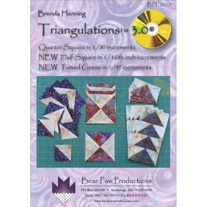 Triangulations 3.0 CD: Quarter Square in 1/8