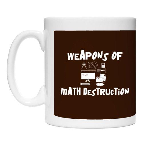 Teeburon Weapons Of Math Destruction Geeks Urbans Mug
