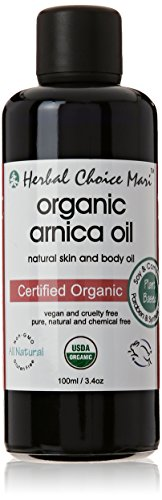 Herbal Choice Mari Organic Arnica Oil 100ml/ 3.4oz Bottle