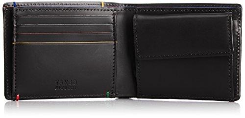 [タケオキクチ] 二つ折り財布 セクション 701613 BLK クロ