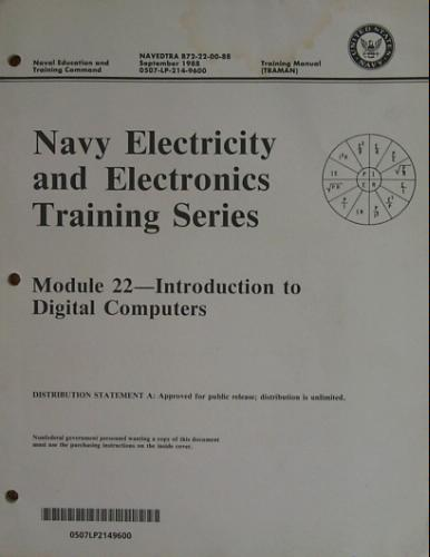 United States Navy Electricity and Electronics Training Series