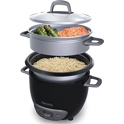 Aroma Arc-743-1ngb 6 Cup Rice Cooker, Black from Aroma